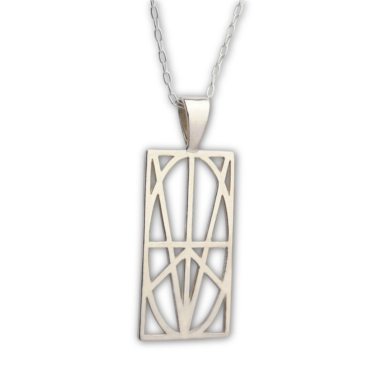 Picture of Women's Large Sterling Silver Pendant