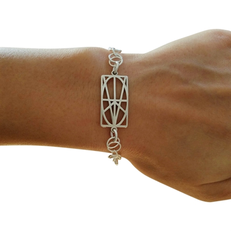Picture of Sterling Silver Chain Bracelet